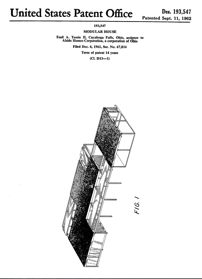 Patent Sept 11 1962