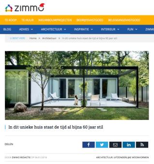 Zimmo - Belgium Jan 2018