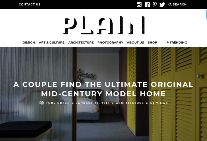 Online Magazine - Plain Magazine - Jan 2018