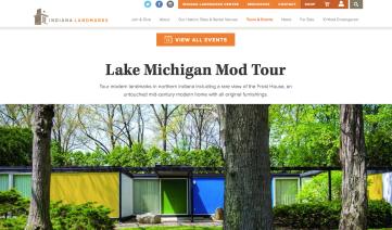 Indiana Landmarks & Indiana Modern Home Tour - Aug 2018